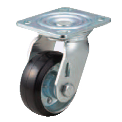 Casters - Heavy Load - Wheel Material: Rubber - Swivel Type