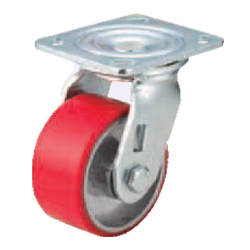 Casters - Heavy Load - Wheel Material: Urethane - Swivel Type
