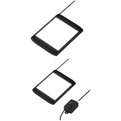 LED Flat Lights - Square / Dimming Controller Type