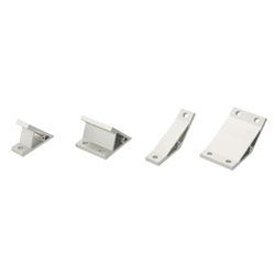Angled Brackets - For 8 Series (Slot Width 10mm) Aluminum Extrusions