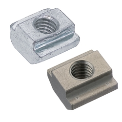 Pre-Assembly Insertion Spring Nuts for Aluminum Extrusions - Bulk Packages - For 8 Series (Slot Width 10mm) /Pack (100/Pkg.)