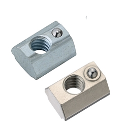 For 8 Series (Slot Width 10mm) - Post-Assembly Insertion - Spring Nuts / Pack (100/Pkg.)