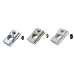 For 8 Series (Slot Width 10mm) - Post-Assembly Insertion - Lock Nuts