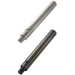 Linear Shafts-One End Threaded with Wrench Flats / Cross-Drilled Hole