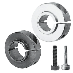 Shaft Collar - For Bearing Mounting / For Bearing Mounting (Space-Saving Design) - Clamp Type / Compact, Clamp