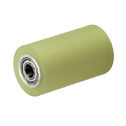 Urethane Rollers with Bearing, Straight Type, Urethane Thickness Selectable