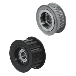 Flanged Idlers with Teeth - L, H - Center Bearing