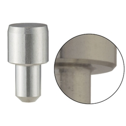 Locating Pins - High Hardness Stainless Steel Large Head, Tapered (Press Fit)