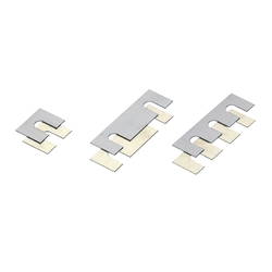 Square Shims - Slotted Hole