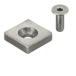 Magnet - Countersunk - Square Type