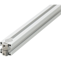 Blind Joint Components - Double Joints Pre-Assembled Aluminum Extrusions  for 8-45 Series (Slot Width 10mm)