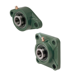 Ball Bearing Units-Square Flanged/C-Value