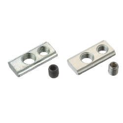 For 5 Series (Slot Width 6mm) - Post-Assembly Insertion - Lock Nuts