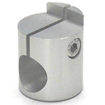 Round Pipe Joint Same Diameter Hole Type Shelf Plate Fixed