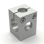 Round Pipe Joint Differing-Diameter Hole Type for Additional Working in 3 Directions
