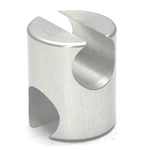 Round Pipe Joint Same Diameter Type Both Open