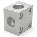 Round Pipe Joint Same Diameter Hole Type Two-Split Cross Shape