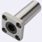Flanged Linear Bushings - Standard Type - Long Type - with Square Flange