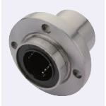Flanged Linear Bushing - Spigot Joint - Single Type - with Round Flange [LMYMFPUU]