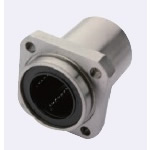 Flanged Linear Bushing - Spigot Joint - Single Type - with Square Flange [LMYMKPUU]