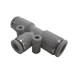 Push-in Fittings - WP Series, Reducing Union Tee