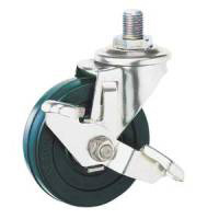 Stainless Steel Caster SU-SEL Series Swivel with Stopper