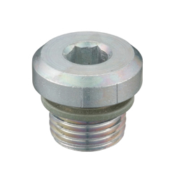 Flanged Hex Socket Head Screw Plug_SPN-H