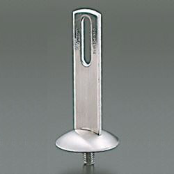 Standing Pipe Fixture / Mounting Leg, Leg with Stainless Steel Collar