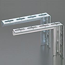 Angled-Kun/Channel-Kun, L-Shaped Bracket (Bright Chromate Plating)