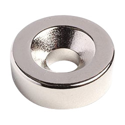 Countersunk Bolt Mounted Type Round Neodymium Magnet