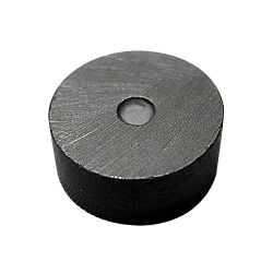Round-Shaped Anisotropic Ferrite Magnet