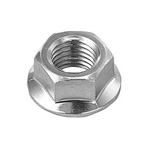 Flange Nut, Serrated