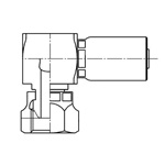 Swage Type Pipe Parallel Male Screw Fitting (with 30° Female Sheet) SC
