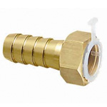 Metal Pipe Fitting Hose Adapter With Nut