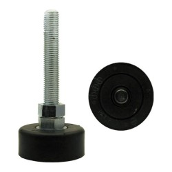 Ono Rubber, Anti-Vibration Leg Pedestal All-Leg Level Adjuster, Up-Down Vibration Proof