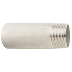 Stainless Steel Screw-in Pipe Fitting, One Sided Long Nipple NSL