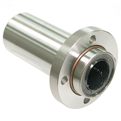 Flanged Linear Bushings LFDB-Shaped Double Boss-Positioned Round-Shaped Flanges