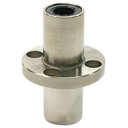 Flanged Linear Bushings LFDC-Shaped Double Center-Positioned Round-Shaped Flanges
