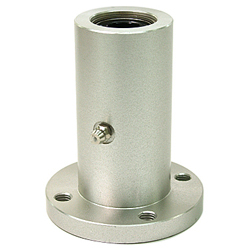 Flanged linear bushing housingLFW-OH shapedoubleround flangealuminum casewith lubricating hole