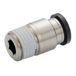General Plumbing Tube Fitting, with Straight Hexagonal Socket