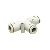Tube Fitting Chemical Type Union Tee for Clean Environments