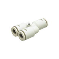 for Chemical  Tube Fitting, Chemical Type, Union Y
