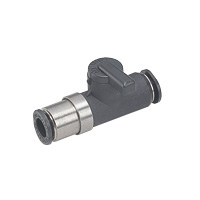 Shut-Off Valve, Ball Valve 10 Series, Different Diameter Union Straight