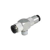 Rapid Exhaust Valve: input exhaust port fitting, export port screw, concentrated exhaust system