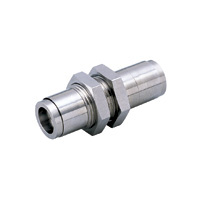 Tube Fitting Plus Bulkhead Union for Sputtering Resistance