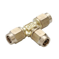 for Sputtering Resistant, Brass Tightening Fitting, Union Tee