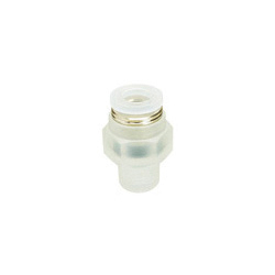for Clean Environment, Tube Fitting PP Type, Straight