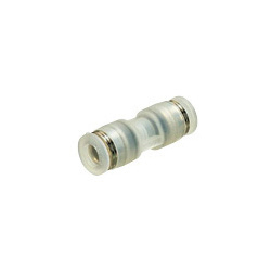 Tube Fitting PP Type Union Straight for Clean Environments