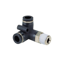 General Plumbing Tube Fitting Tripod Elbow