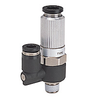 Single Unit Type: Direct attachment electromagnetic valve, straight type, concentrated exhaust